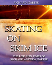 Skating on skim ice cover
